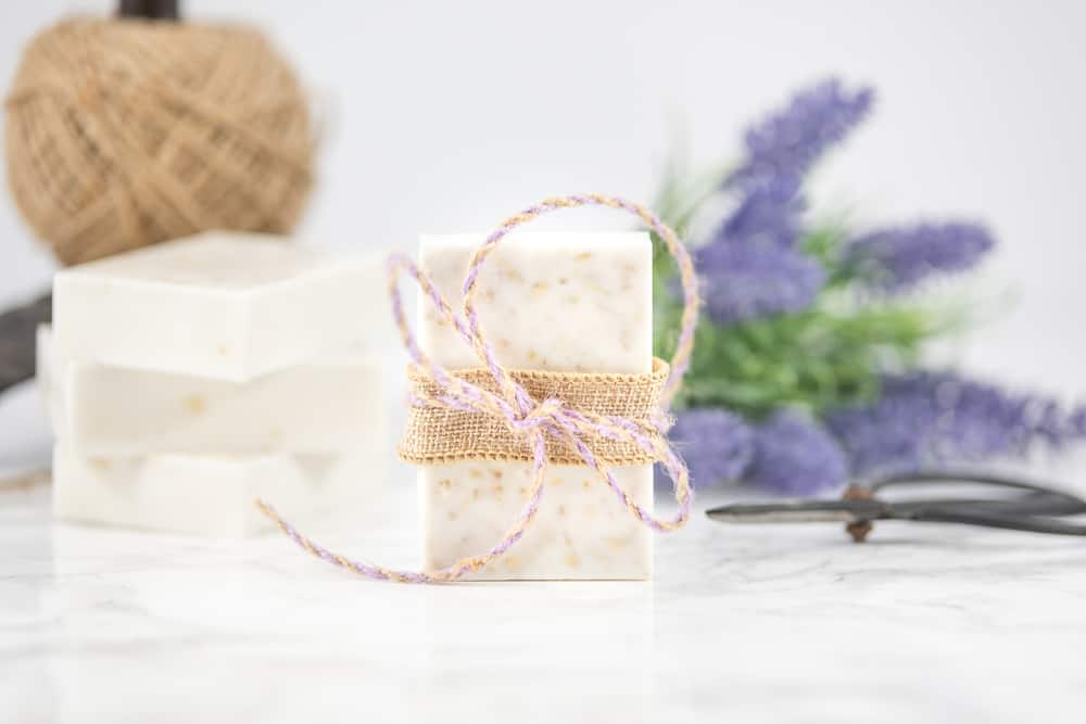 oatmeal honey soap for dry skin