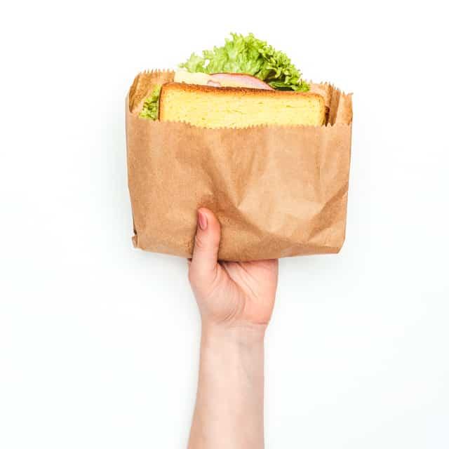 paper sandwich bag