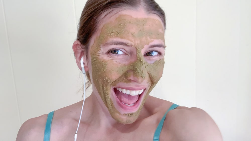 pumpkin face mask
