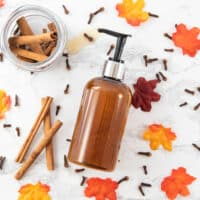 DIY Pumpkin Spice Body Wash - The Artisan Life