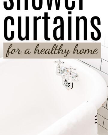 PVC-free shower curtains