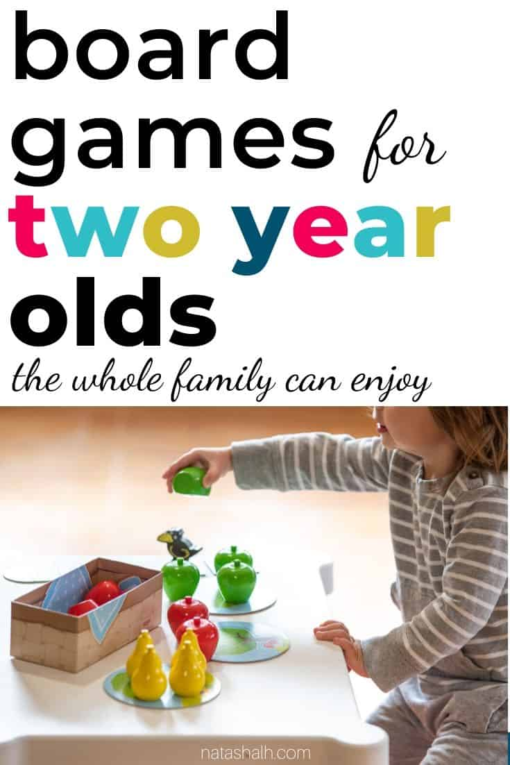 The Best Board Games for Two Year Olds