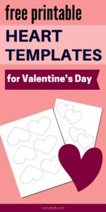 15+ Heart Template Printables - Free Heart Stencils and Patterns