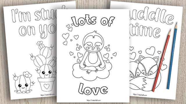 15+ Valentine's Day Coloring Pages for Kids
