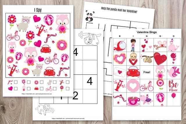 Printable Valentine's Day Activity Pack