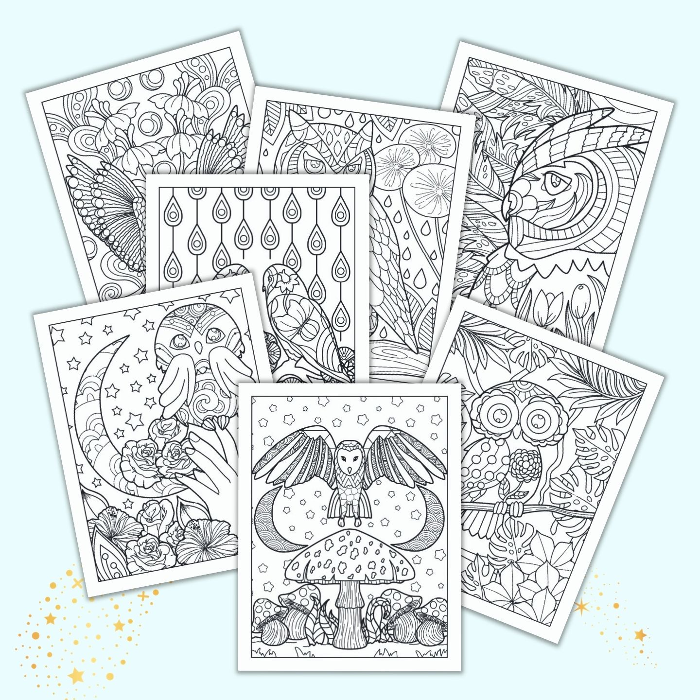 21 Spring Coloring Pages Free Printable Spring Adult Coloring Pages The Artisan Life