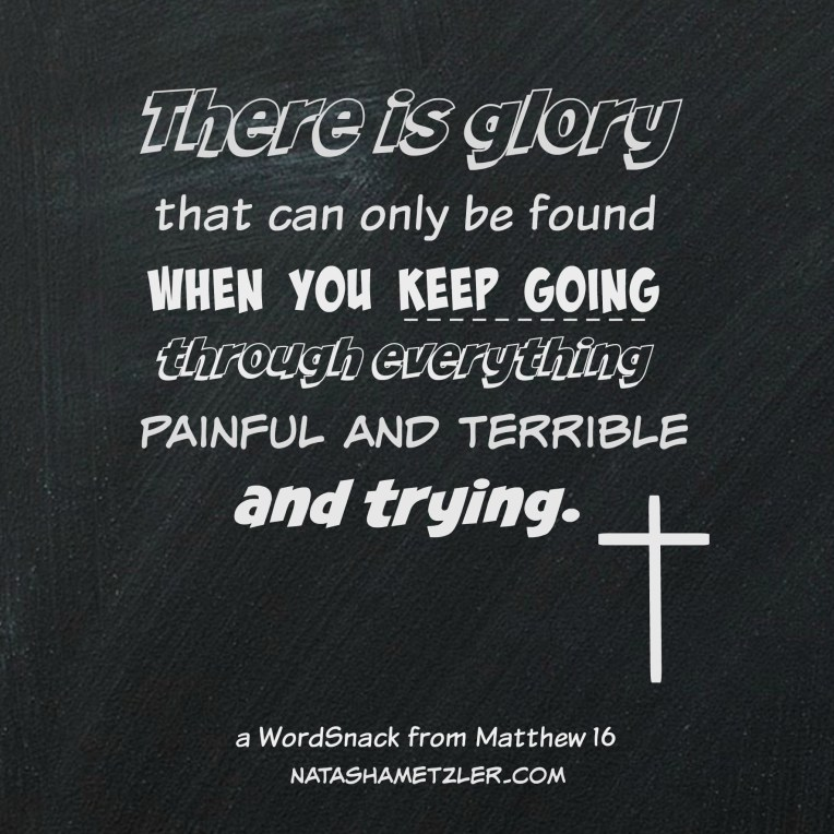 a WordSnack from Matthew 16