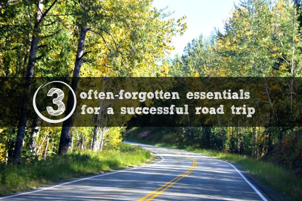 3 Tips for Road Trips