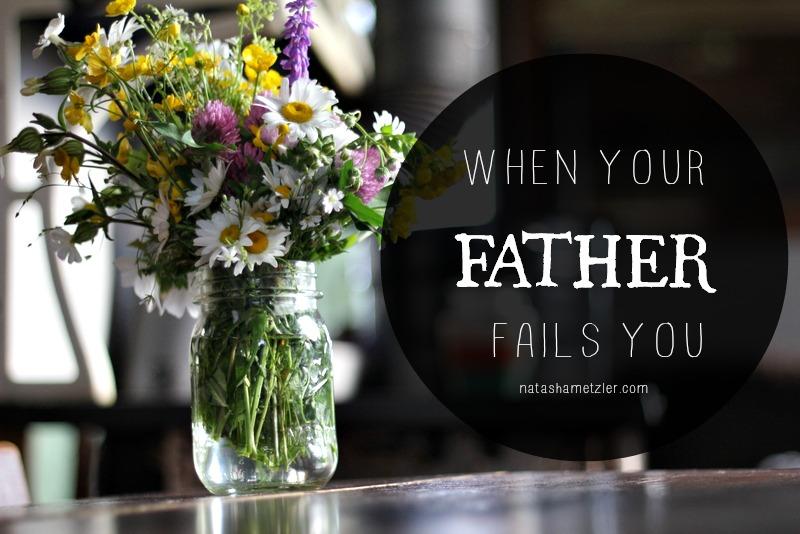 When your father fails you @natashametzler