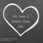 a WordSnack from Psalm 63