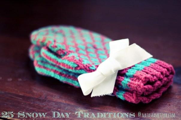 snow day mittens