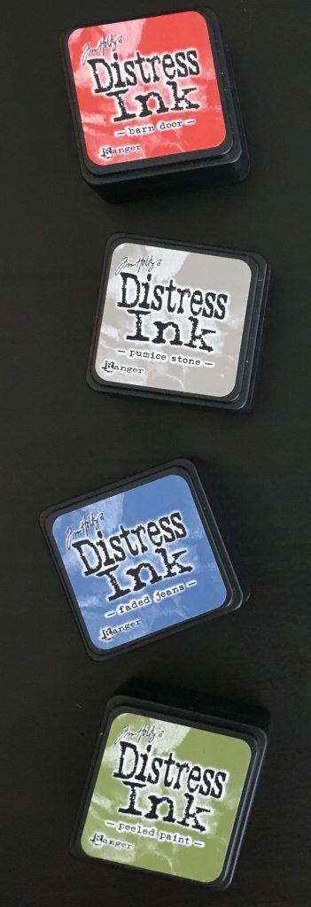 Tim Holtz Distress Ink Kit 5