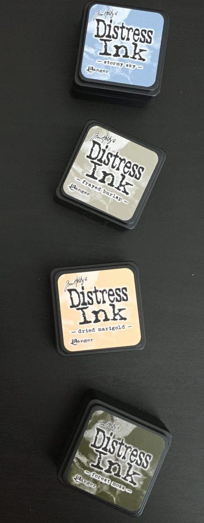 Tim Holtz Distress Ink Kit 9