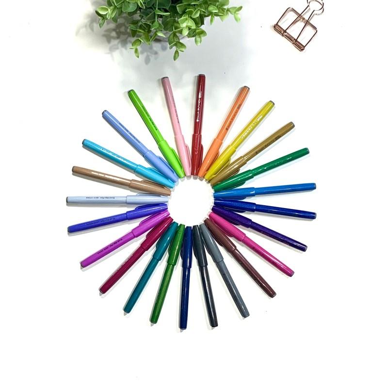 Pentel Brush Pens vs Tombow Fudenosuke Pens