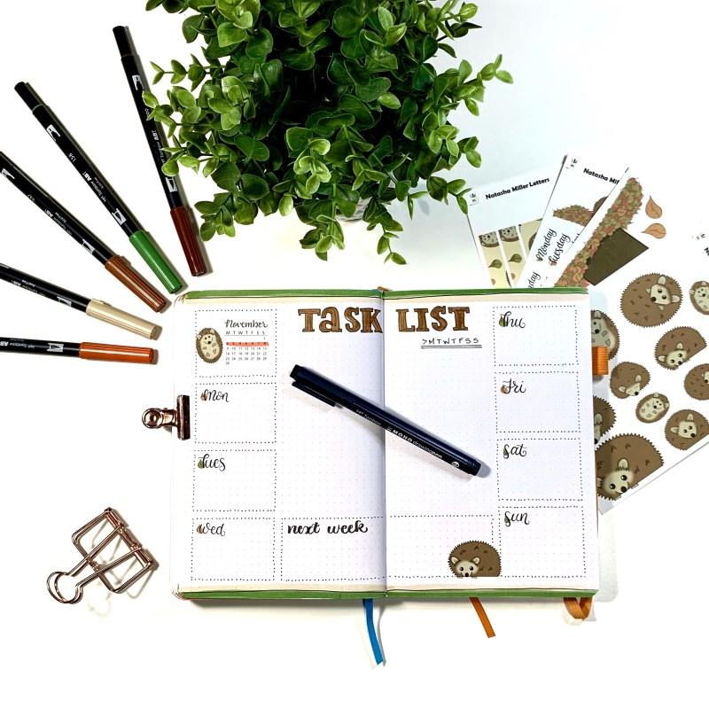 Rapid Logging Task List Method