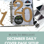 December Daily 2020 Foundation Pages
