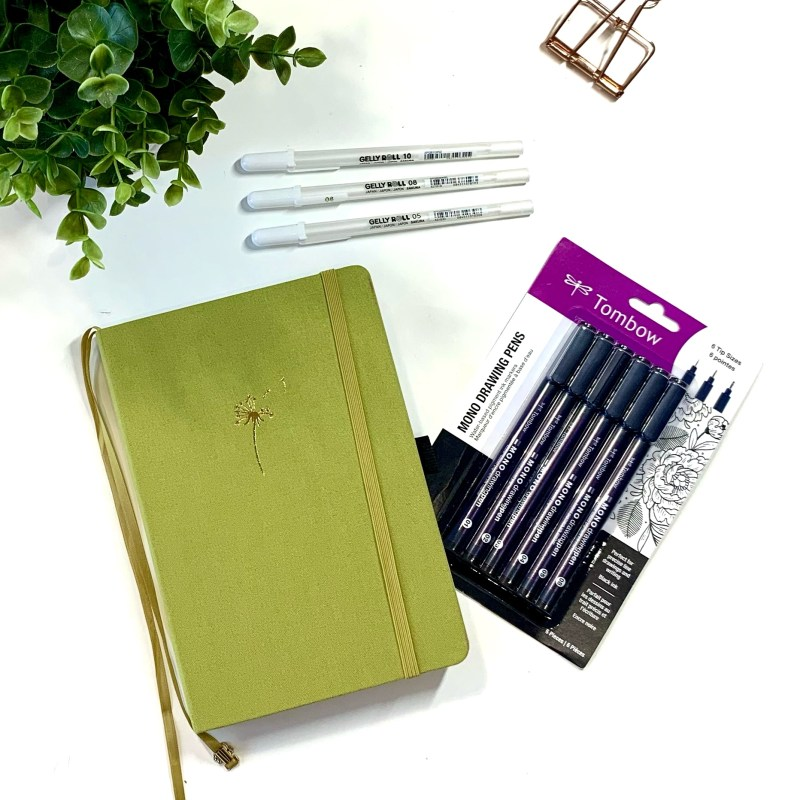 Basic Bullet Journaling Supplies