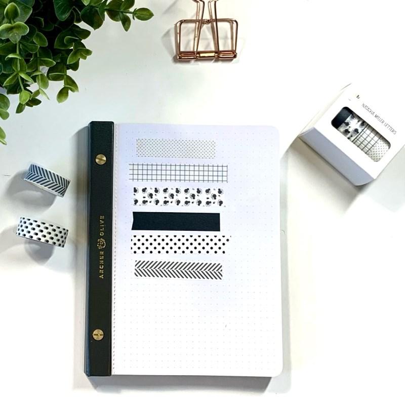 Favourite Washi for Bullet Journaling