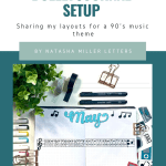 Music Bullet Journal Setup