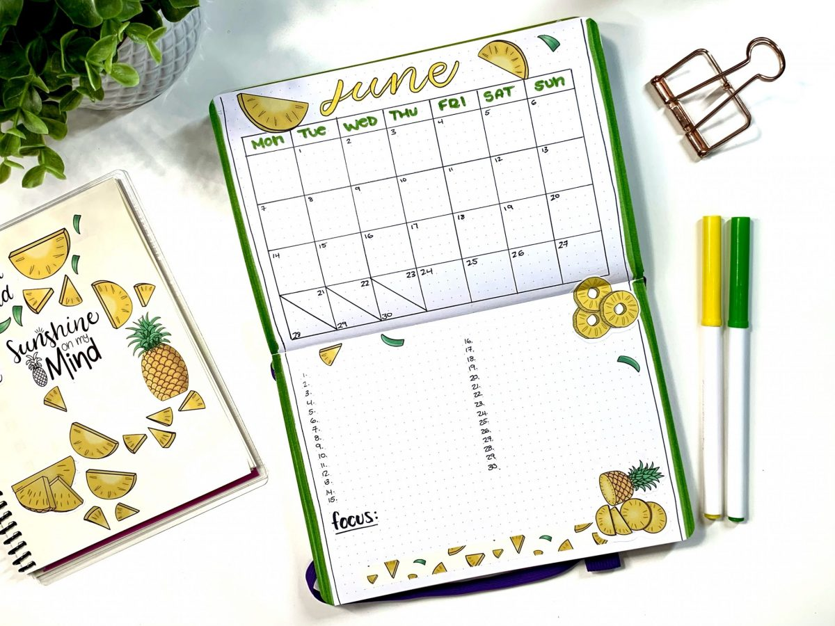 June Monthly Calendar Inspiration