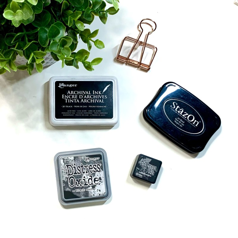 Hybrid and Solvent Ink Stamp Pads