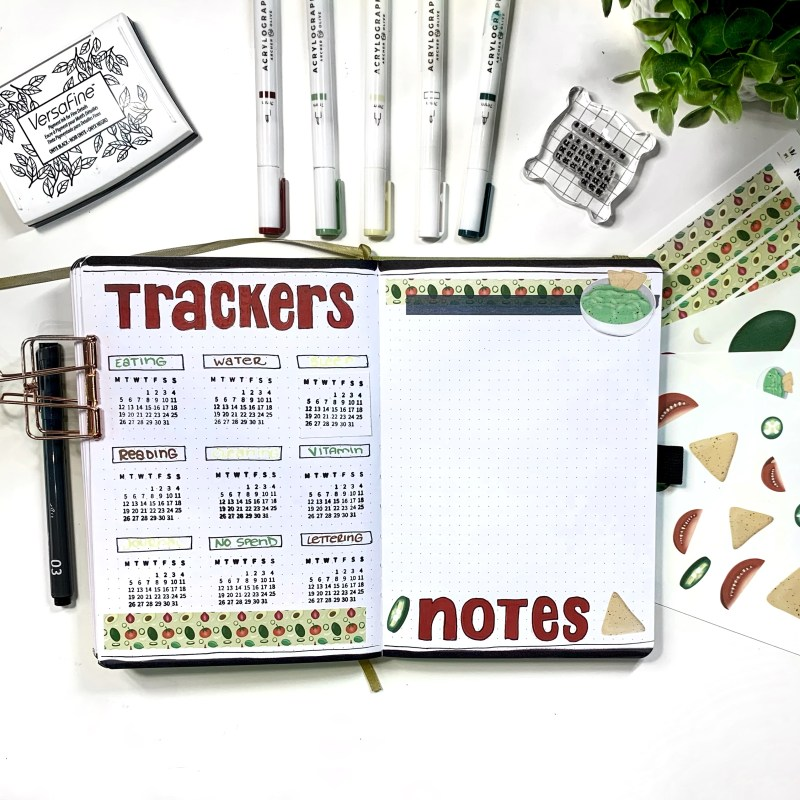 July Bullet Journal Plan With Me