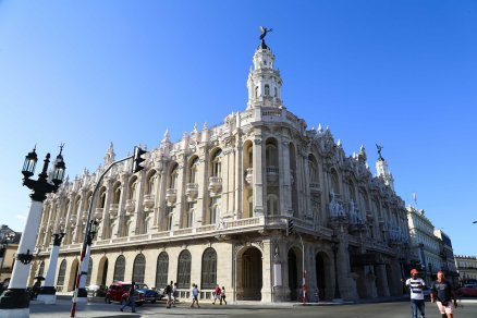 The National Theater in Havana, Cuba