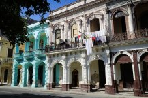 Walking down El Prado: Havana, Cuba