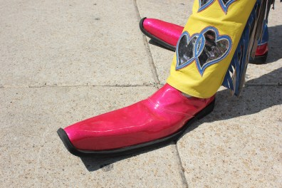 Clown feet...