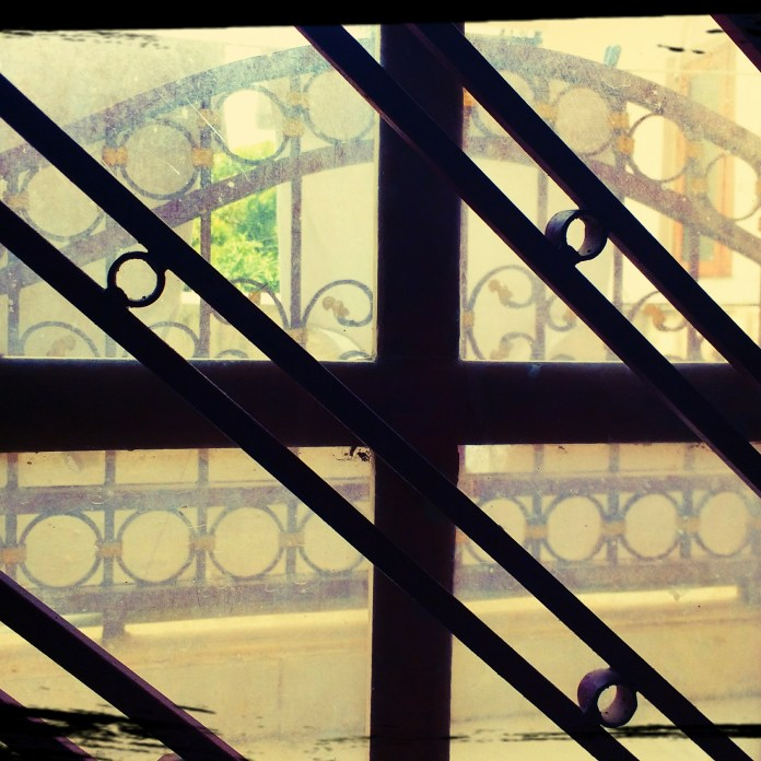 a frame through another window frame