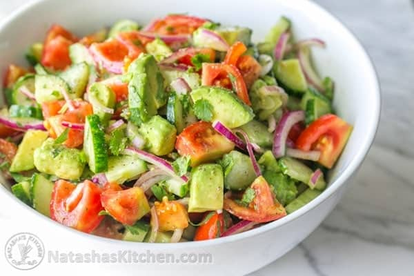 Image result for avocado with tomatoes