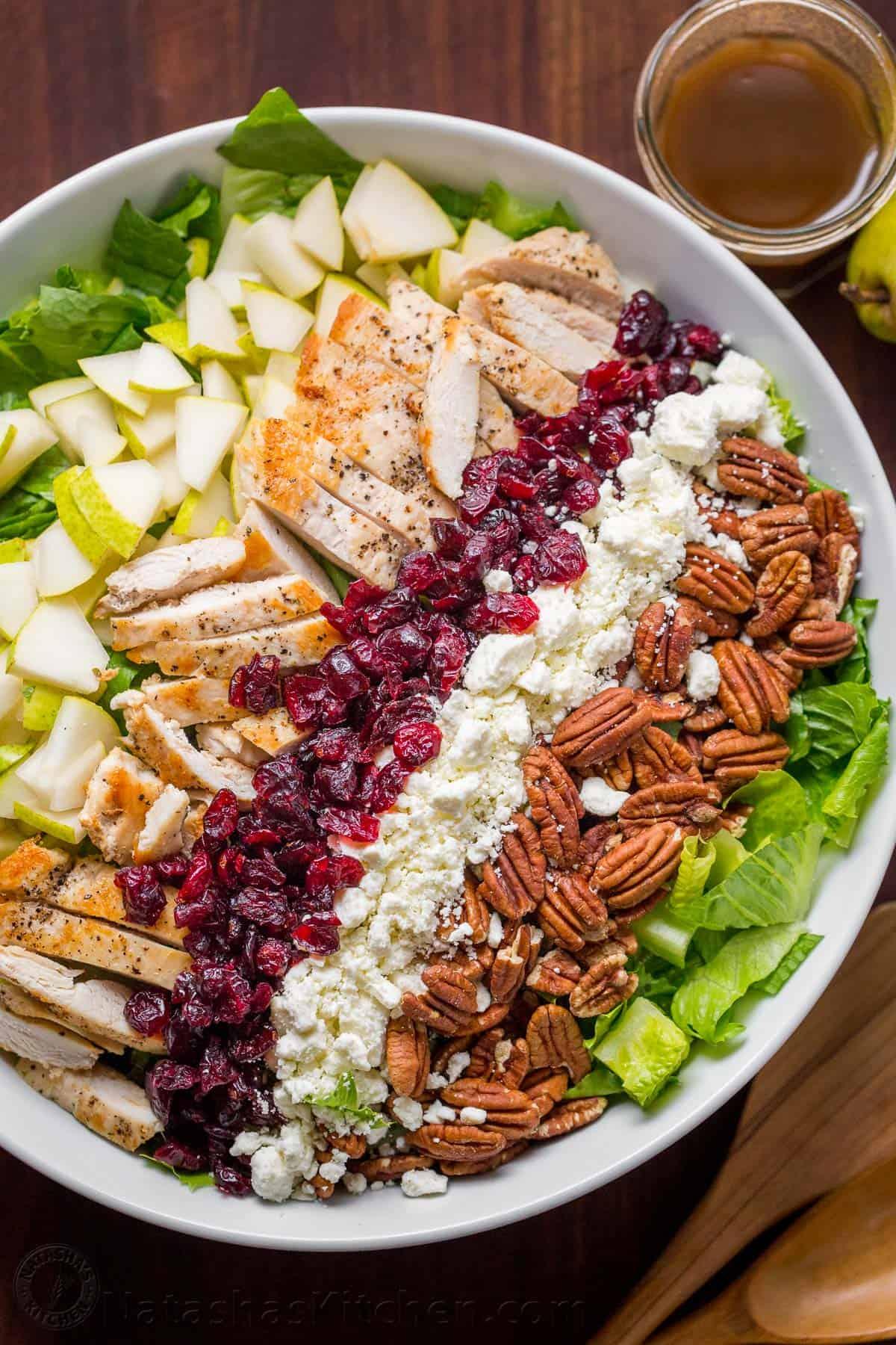 Autumn Chopped Chicken Salad