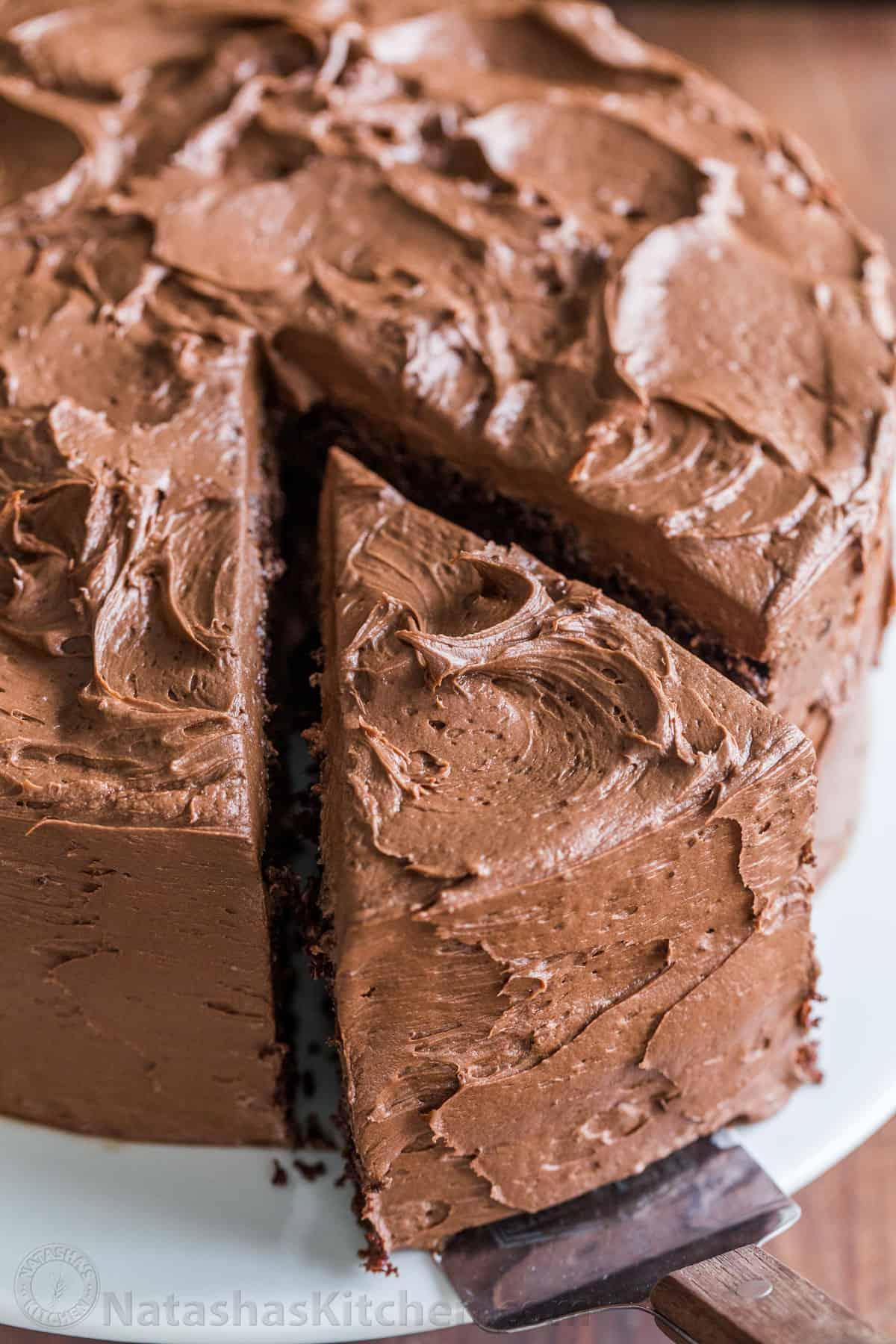 Chocolate Cake Recipe Video Natashaskitchen Com