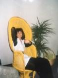 in mijn rieten stoel