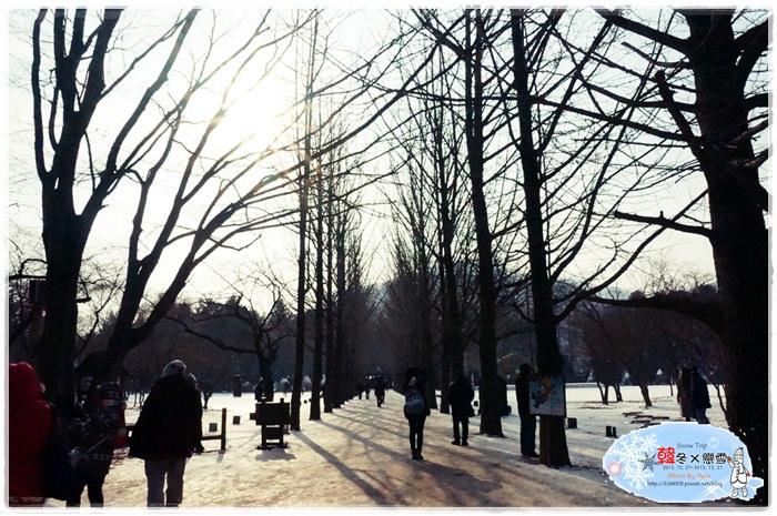【旅行✈KOREA】2013韓冬戀雪×首爾Snow Trip*第一部追的韓劇「冬季戀歌」,不用怕在南怡島會肚子餓!戀歌之家以及小吃分享。