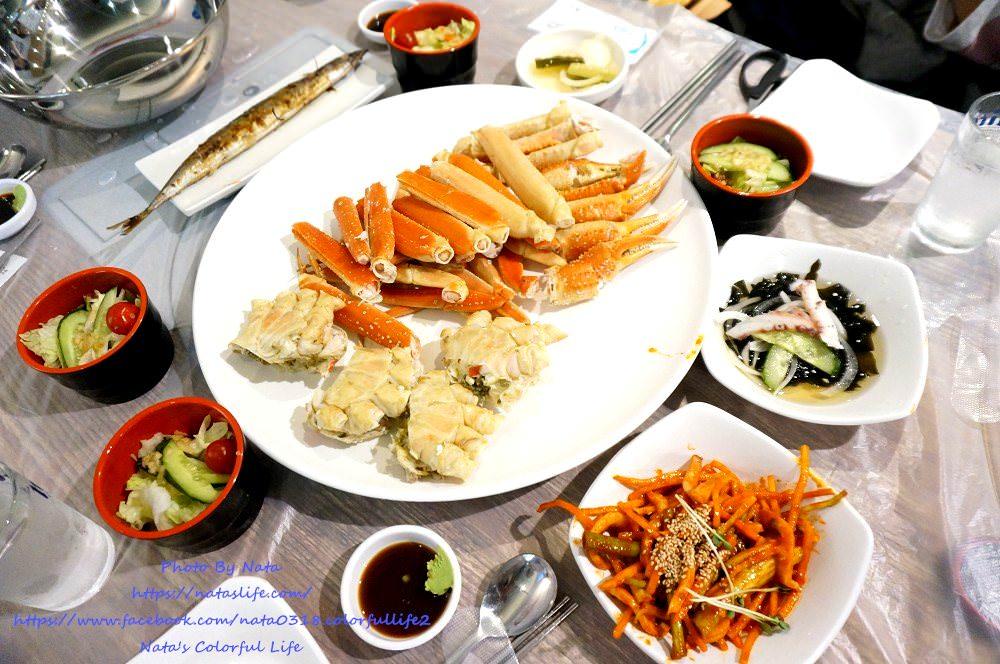 釜山釜田站美食│海神生魚海產餐廳해신회대게。隱藏在大樓裡的海鮮餐廳