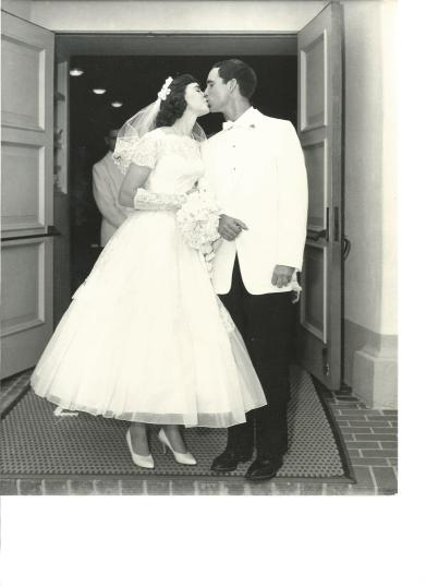 Mum and Dad on their wedding day