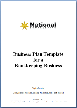 National bookkeeping business plan template natbooks local myob business plan for bookkeeping business wajeb Choice Image