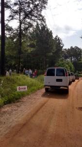 CTCYM 3 Teams Unloading at SAgFarm