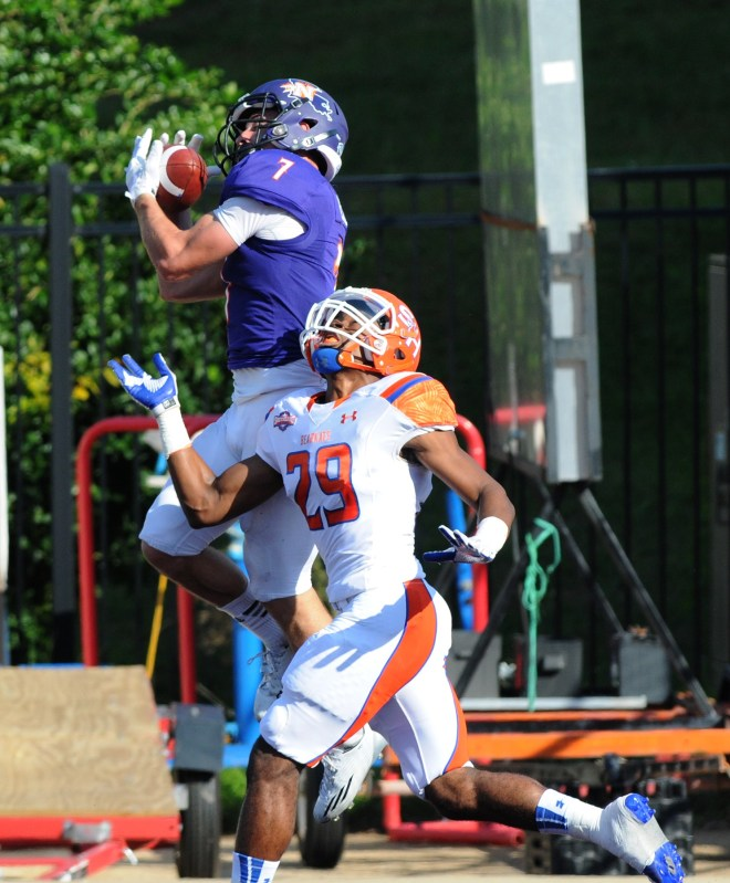 Northwestern State receiver Ed Eagan