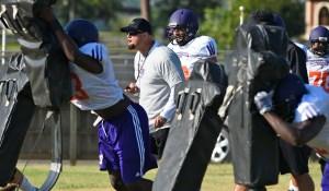 Offensive coordinator/offensive line coach Ben Norton