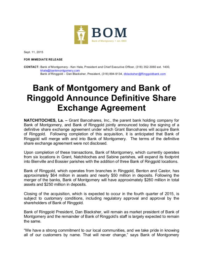 BOM Press Release - 1