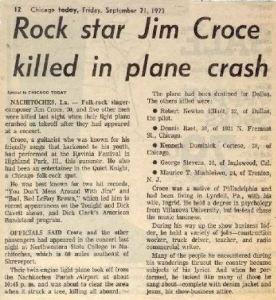 Croce - News Story