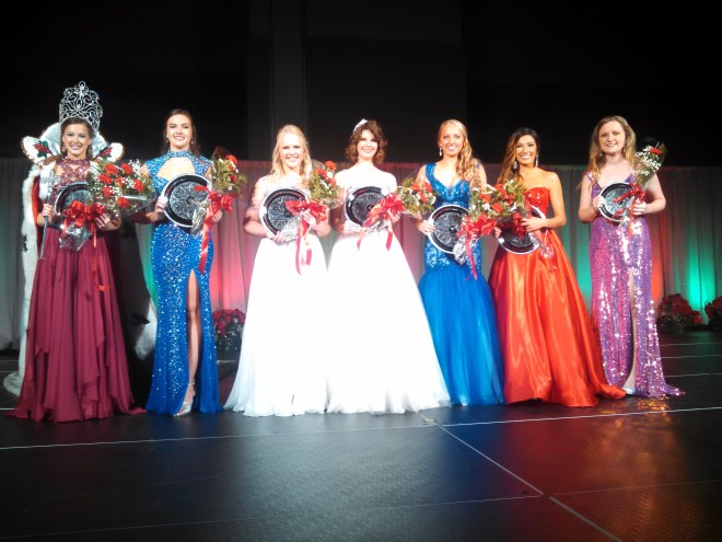 Miss Merry Christmas 2015 Pageant Winners