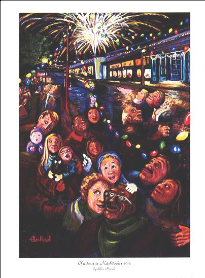 2015 Christmas Festival Poster Print