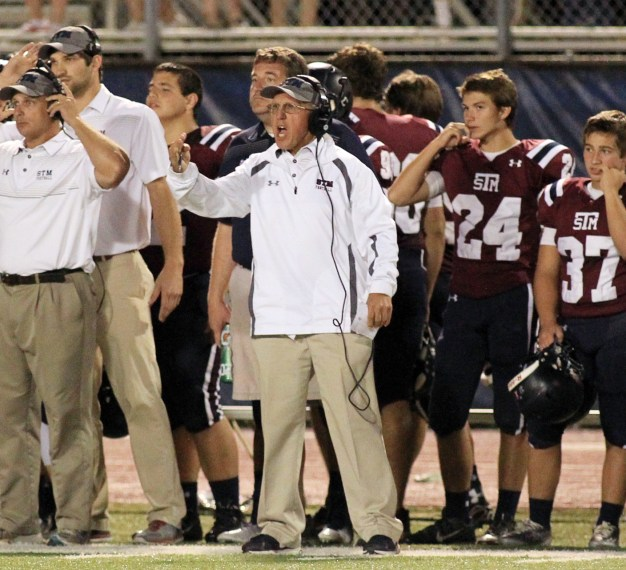 "JIM HIGHTOWER -- Going into the 2015 season, Hightower is the second-winningest coach in Louisiana high school football history with a 376-116-1 record and winning percentage of .762 in 40 seasons – beginning his 30th at St. Thomas More in Lafayette. He ranks behind only J.T. Curtis, who has amassed 540 wins through 2014, in Louisiana annals after passing Alton ""Red"" Franklin (366) in 2013. He ranks in the top 25 among America's active prep football coaches. Hightower has never had a losing season in his 40-year career as a head coach, which began at Catholic-Pointe Coupee in 1975. His team won the Class 1A state title in 1978, beating St. Edmund's of Eunice, 45-16, in a game played at LSU's Bernie Moore Stadium. He also won a state baseball crown at CHSPC before moving to Lafayette's St. Thomas More. He is believed to be the only coach to win a district title in all classes in Louisiana (1A, 2A at Catholic P.C.; 3A, 4A and 5A at St. Thomas More). Since moving to STM in 1986, he has been named state Coach of the Year in his class twice. At St. Thomas More, Hightower has compiled a 249-89 record in guiding his team to 27 playoff appearances in a row (1988-2014), winning 13 district titles in that time. The Cougars have reached the regionals 21 times, quarterfinals 15 times and semifinals seven times. Born 12-29-1948 in Alhambra, California."