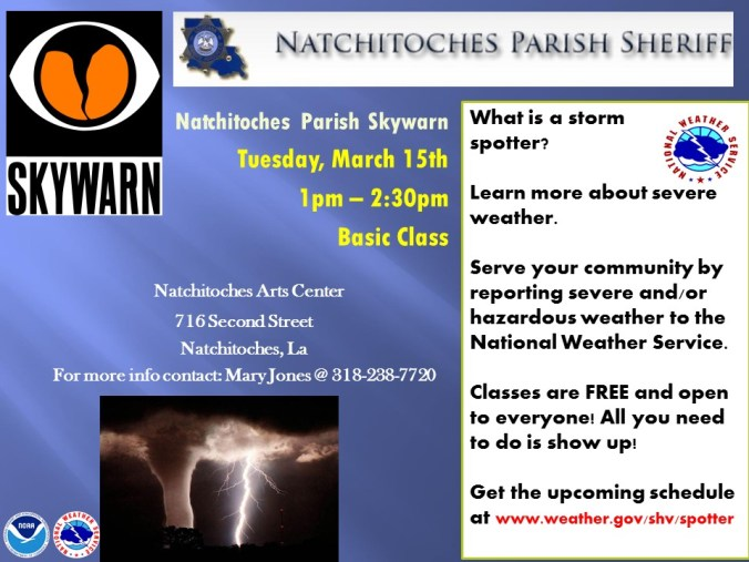 Natchitoches Skywarn Class ppt