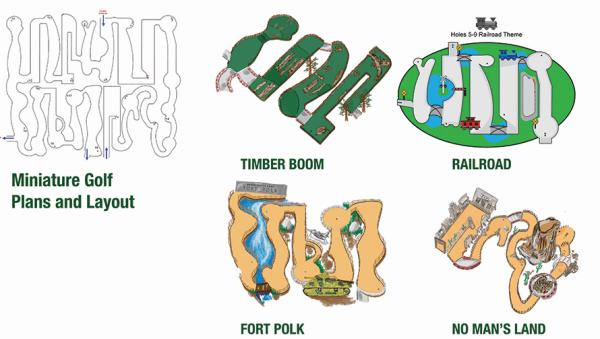 Students Unveil Design For Mini Golf Course Natchitoches Parish