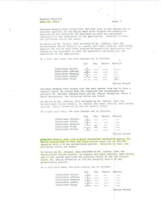 Parish Council Meeting Minutes2