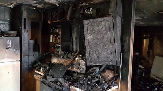 NFD-9 kitchen fire 1